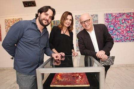 Horacio Ernani, Alice Barbosa Lima e Alberto Sabino