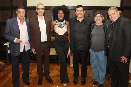 Jorge Perlingeiro, Celso Fonseca, Mylena Jardim, Michael Sullivan, Carlos Colla e Aloysio Legey