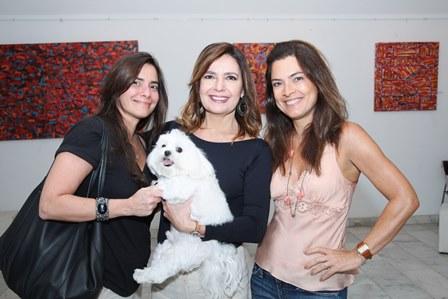 Raphaella Veloso, Alice Barbosa Lima e Andrea Magalhães Lins