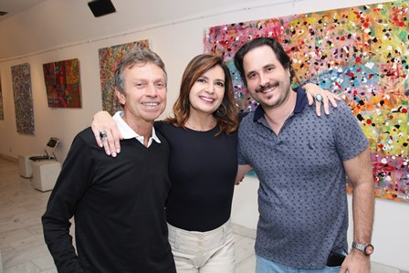Marcos Rodrigues,Alice Barbosa Lima e Horácio Ernani