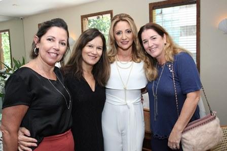 Fatima Fernandes, Luluka Eichin, Cli Waissman e Patricia Resende