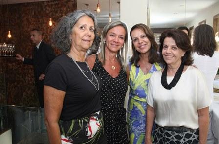 Lilian Amoedo, Teresa Sabcs, Angelica Canini e Carmem Formenti