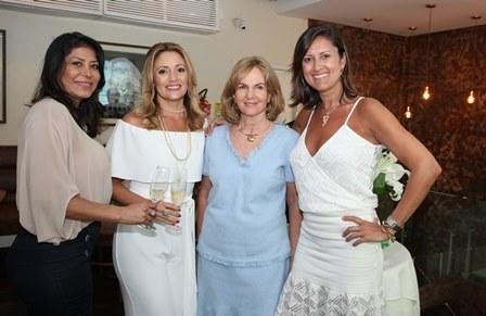 Jassy Oliveira, Cli Waissman, Elisabeth Bragança e Elisa Rocha