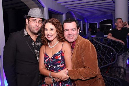 Beto Bardawill,Renata Araújo e Luizinho
