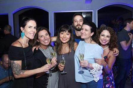 Helana Duncan,Maria Vargas,Denise do Amaral,Elia Schramm,Mariana Fonseca e Reanata Araújo