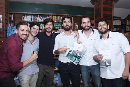 Leonardo Rocha, Antonio Mascarenhas, Lucas Teixeira, Frank Affonseca, Gulherme Mello e Thiago Lima