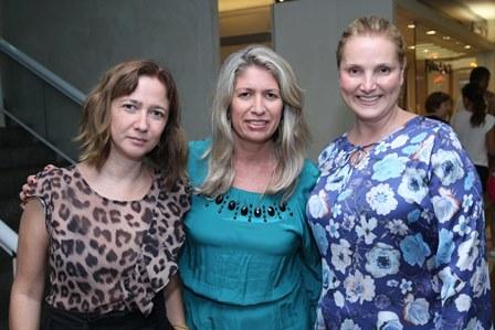 Bella Ruas,Adriana Borelle e Ana Paula Drummond