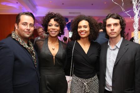 Alberto Bardawill, Lica Oliveira, Aisha Jambo e Gabriel Lucena