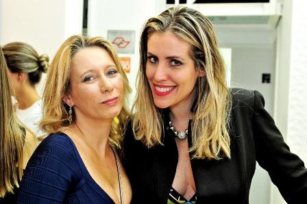 Bruna Barros e Priscila Bornschlegell