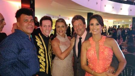 Cantor Djalma Ferreira, Ailton Pitombo, Telma e Marcos Oliveira e Manuela Amoendo