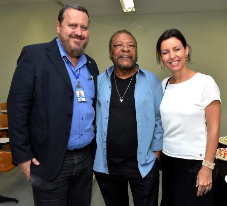 Wagner Victer , Martinho da Vila e Cléo Ferreira