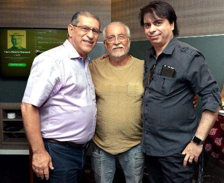 Roberto Corrêa de Mello , Roberto Menescal e Daniel Figueiredo