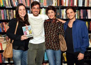 Vanessa Araújo , Rodrigo de Mattos , Sonia Mattos e  Luis Fernando Bruno