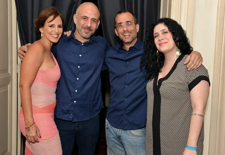 Renata Guerra , Daniel Gonzaga , Rodrigo Rezende e  Fernanda  Gonzaga