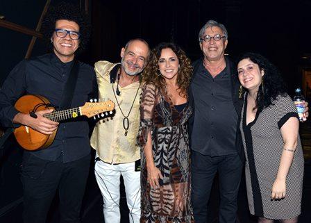 Hamilton de Holanda , Carlos Malta  , Daniela Mercury , Ivan Lins e Fernanda Gonzaga