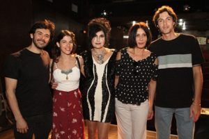 Dodô Moraes, Christine Valença, Hanna , Lucia Meloe Bruno Bellini