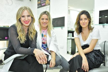 Fernanda Fischer, Ju Abrbeiro e Pamela Barja