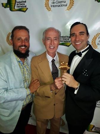 Fernando Leanza, Guil Silveira e Elcio Hime