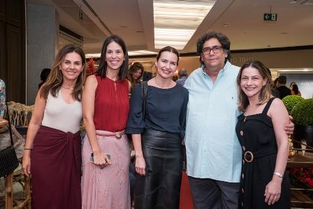 Geisa Rabello Cecilia Ligiero Adriana mattar Antonio Neves da Rocha e Eugenia Del Vigna
