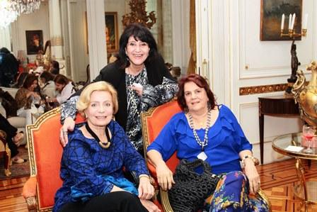 Maria Jose Goytacaz, Micheline Thome e  Anna Lucia Fragoso Pires