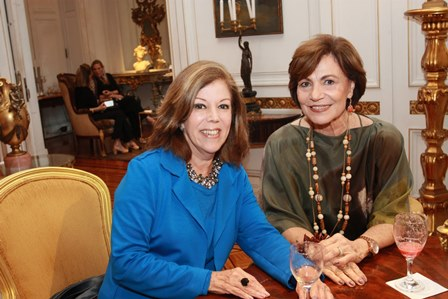 Sylvia de Castro e Heloisa Fabrini