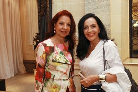 Glaucia Zacharias e Liliana Rodriguez