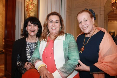 Micheline Thome, Teresa Macedo e Suely Lima