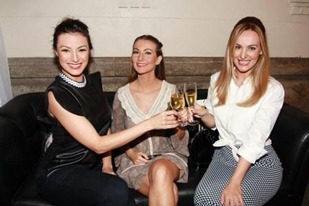 Aline Malafaia, Deyse Krieger e Adriana Piovesani