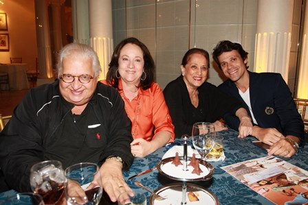 Carlos Alberto Serpa, Beth Serpa, Belyta Tamoio e  Fernando Rezende
