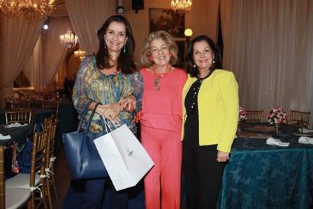 Luciana Tostes, Margaret Padilha e Sonia Romano
