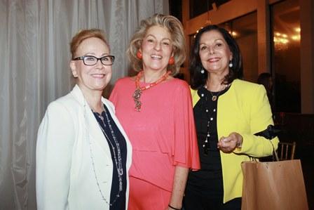 Edy Barroso, Margaret Padilha e Sonia Romano