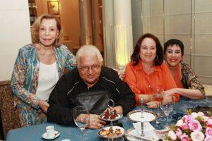 Ilka Bambirra, Carlos Alberto Serpa, Beth Serpa e Yacy Nunes