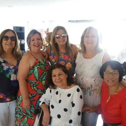 Ieda Sampaio, Célia Cerqueira, Juselia Machado, Martine Veloso, Maria Aparecida Almeida e Norma Soares