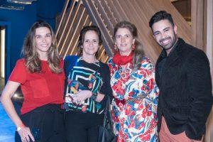 Juliana Piquet Patricia Quentel Kika Gama Lobo e Carlos Henrique Plaster