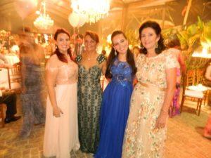 Larissa,Josenilde, Bruna e Aldacy Sobral