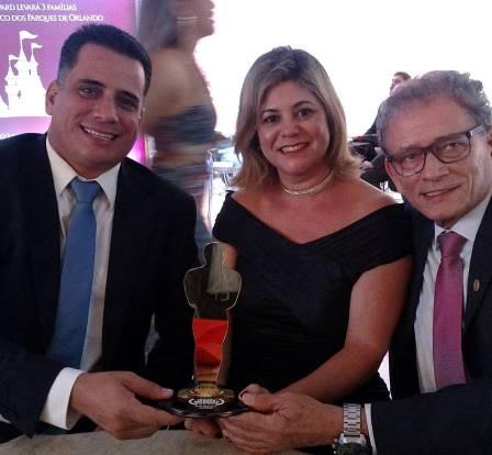 Leno, Marilene e José Lino Carneiro
