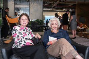 Mirian Santos e Ana MAria Gama Lobo