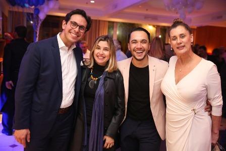 Netto Moreira, Mylena Ciribelli, Vinicius Belo e Claudia Wildberg