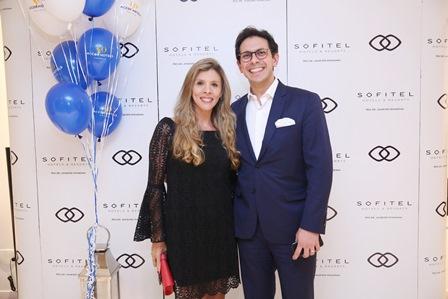 Nicole Ofeiche e Netto Moreira