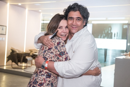 Patricia Mayer e Antonio Neves da Rocha