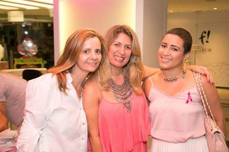 Priscila Bentes, Adriane Cordeiro, Fernanda Muniz