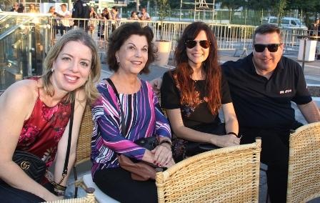 Rosane Bomfiglio, Rosa, Valéroa e Sergio Ozório