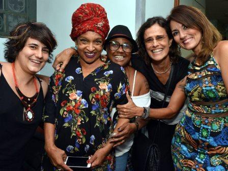 Simome Floresta, Elisa Lucinda, Sandra de Sá, Zélia Duncan e Renata Celidônio