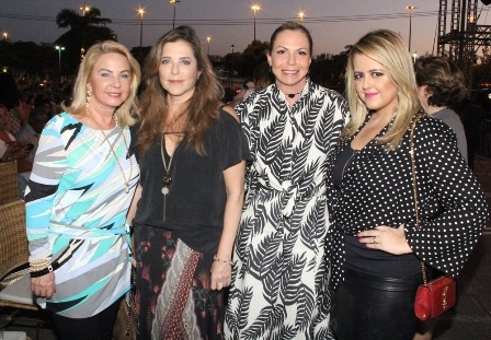 Solange Mesina, Andreia Repsold, Nina Kauffmann e Thereza Chammas