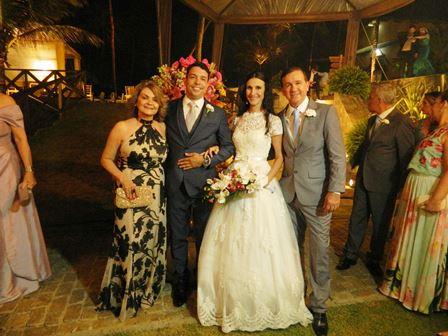 Sonia Loureiro, Bruno Araújo e Juliana sobral e Rosalvo Fontes