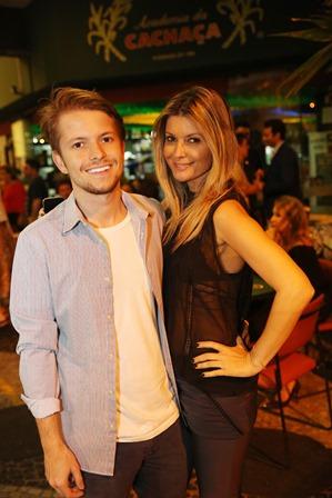Victor Niskier e Ellyn de Paula