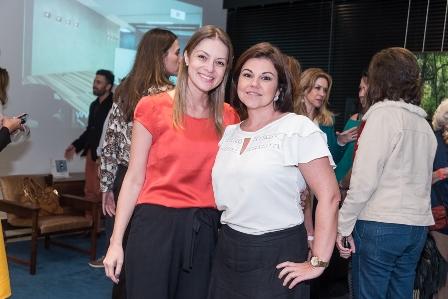 Barbara Nascimento e Luciana Lapagesse