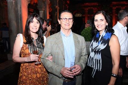 Claudia Ferraz, Hélio Ferraz e Katia Leite Barbosa