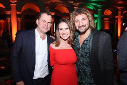 João Pedro Gouveia viera, Eneida Gouvêa Vieira e Rodrigo Sha
