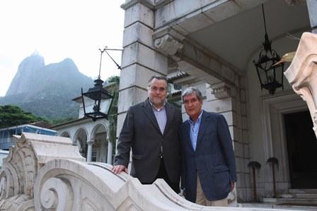 Claudio Magnavita e Sergio Costa e Silva